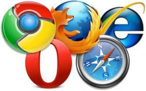 Опубликована статистика использования популярных браузеров на сайтах