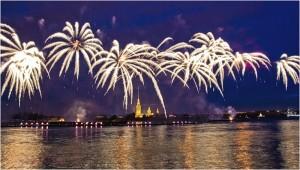 В Санкт-Петербурге прошел праздник Алые паруса